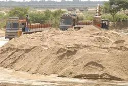 Brown RIVER SAND MORANG, For Construction, Packaging Type: By Truck Loose