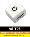 Electronic Temperature Label
