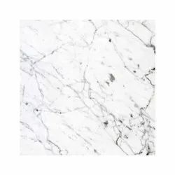 Polished Finish White Marble Stone Slab, Application Area: Flooring, Thickness: 16 mm