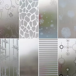 Transparent Printed Decorative Wall Glass, Thickness: 5 Mm