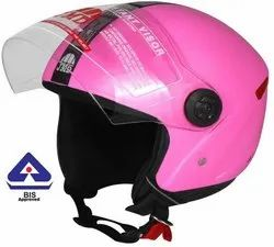 Grand Open Face Helmet (Pink)