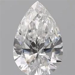 0.70 Pear D VS2 GIA Certified Natural Diamond