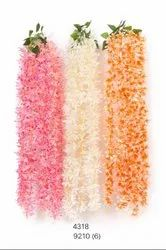 Sunflower Pink Artificial Flower Creepers, For Decoration, Packaging Size: 6 Pcs