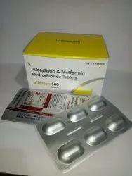 Vildagliptin50mg+ Metformin500mg
