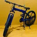 Blue Being Human Foldable Cycle