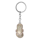 Quirky Gem Studded Slipper Keychain
