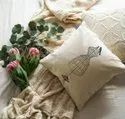 Printed Cotton Cushion Cover