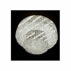 Round Crystal Hanging Chandelier