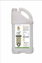 Lowers Cholesterol Harakh Naturals Cold Pressed White Sesame Oil, For Cooking & Medicine, Packaging Size: 5 Ltr