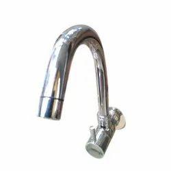 Maaya Hardware Silver Water Sink Tap, For Bathroom Fittings