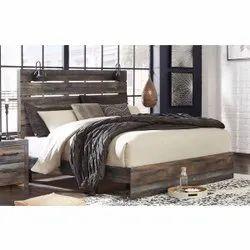 Queen Size Antique Wooden Bed