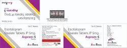 Escitalopram Oxalate 5mg Tablats