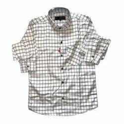 SDG Black,White Men Casual Wear Check Shirt, Machine Wash,Hand Wash