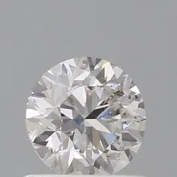 0.70ct Round Faint Pinkish Brown SI2 GIA Certified Natural Diamond