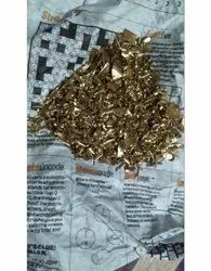 Brass Sheet Scrap, For Metal Industry, Packaging Type: Bag