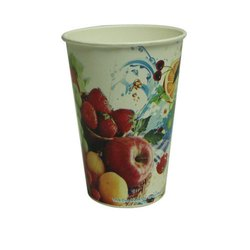 Printed Disposable Paper Juice Cup, Capacity: 150 ML
