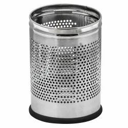 FORTUNE BLU STAINLESS STEEL PERFORATED BIN (11 LTR )