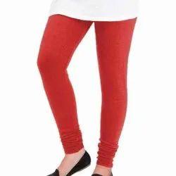 Plain Ladies Woolen Churidar Leggings