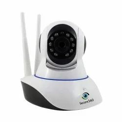 Secure360 Wireless WiFi HD CCTV IP Indoor Security Camera