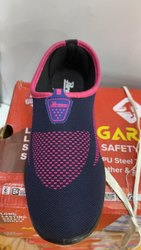 Women Casual Wear Ladies Navy Blue Canvas Shoes, Size: 5-8