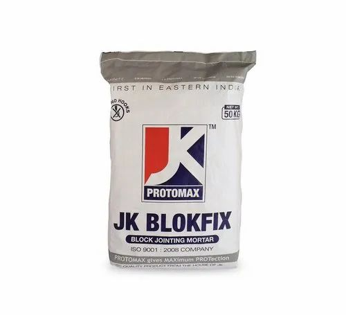 Block Jointing Mortar Jk Blockfix Wall Putty For Interior Exterior Rs 25 Kg Id 22947883788
