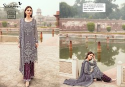 Megha Exports Zarqoon Georgette With Heavy Embroidery Work Salwar Suits