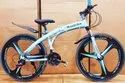 Mercedes Benz Blue Shark Foldable Cycle