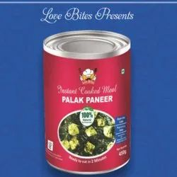 Palak Paneer, 450 Gm, Packaging Type: Box