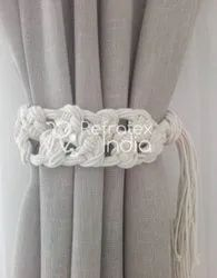 Exclusive Macrame Curtain Tie Back