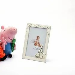 Bewitching Giraffe Ornamented Baby Photo Frame