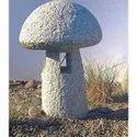Basalt Stone Mushroom