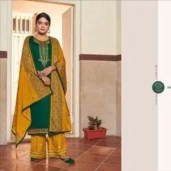 Kalarang Butterfly Vol 3 By Kessi Unstitched Salwar Suit - 4 Pcs Set