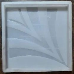 Silicone Plastic Flower Tile Mould