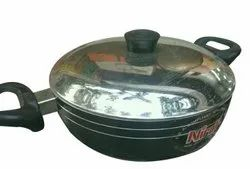 Non Stick Aluminium Nirali Induction Base Cook Ware, For Kitchen, Capacity: 3 Liter