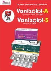 Amlodipine 5mg With Atenolol 50mg Tablets