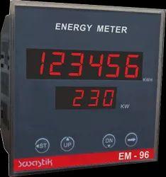 Swastik Energy Meter - KWH Meter, For Industrial, Model Name/Number: EM-96