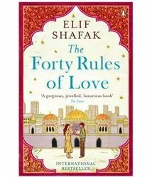 Fiction English The Forty Rules Of Love Book, Elif Shafak