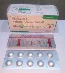 Telmisartan 40mg ,Hydrochlorothiazide 12.5 mg Tablet