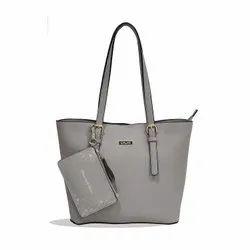 Grey Leather Handbags