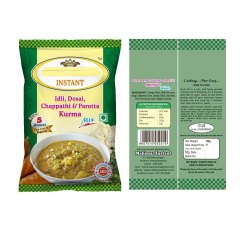 Mix Veg Kurma, Packaging Size: 50 Grams Packet