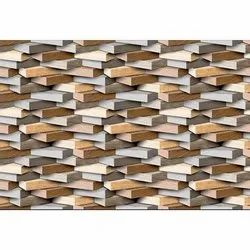 Flores Ceramic Decorative Wall Tiles, Thickness: 10 mm, Size: 250 Mm X 375 Mm