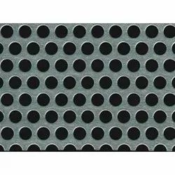Hot Rolled Round GI Perforated Sheet, For Industrial