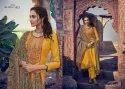 Mumtaz Arts Shikargah Pure Jam Satin Digital Print Suit