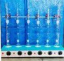 Soxhlet Extraction Apparatus 6 Test Cap. 250 ml