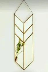 Golden Glass Decorative mirrors, For Hotel