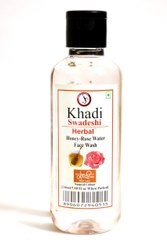 Khadi Herbal Honey Rose Water Face Wash, For Skincare, Age Group: Adults