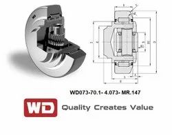 Adjustable Combined Bearings With Shims