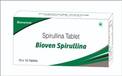 Bioven Spirulina Tablets, Non prescription, Packaging Type: Bottle