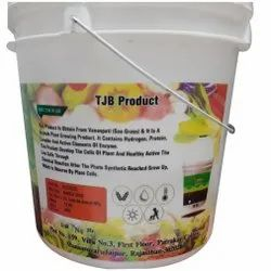 10 L Printed Plastic Bucket only agriculture buckrt, With Handle