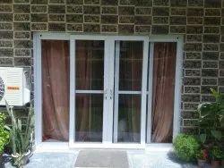 Upvc Partition Doors Sliding Door, For Home, Exterior
